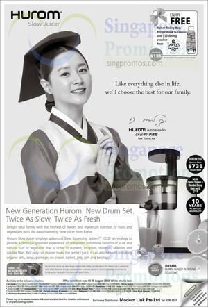Hurom Slow Juicer Promotion : Hurom HU-700 Juicer Tagged Posts (Nov 2017) SINGPromos.com