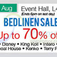 Read more about Isetan Scotts Bedlinen Sale 15 - 21 Aug 2014