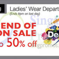 Read more about Desigual End of Season SALE @ Isetan Scotts 11 Jul - 3 Aug 2014