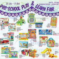 Read more about Isetan Pre School Play & Learn Fair 25 Jul - 11 Aug 2014