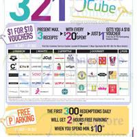 Read more about JCube Spend $20 & Get $10 Vouchers For $1 18 Jul - 31 Dec 2014