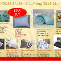 Read more about Jed Home Warehouse Sale @ Breadtalk IHQ 5 - 18 Aug 2014