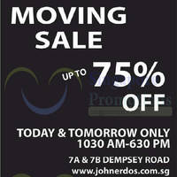 Read more about John Erdos Home Moving Sale 12 - 13 Jul 2014