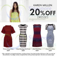 Read more about Karen Millen 20% OFF Dresses 25 - 28 Jul 2014