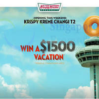Read more about Krispy Kreme NEW Outlet Opening @ Changi Airport Terminal 2 From 2 Aug 2014