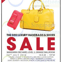 Read more about Brandsfever Handbags & Footwear Sale @ Mandarin Orchard 24 - 25 Jul 2014