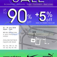 Read more about Link THM Warehouse SALE Up To 90% OFF 16 - 19 Jul 2014