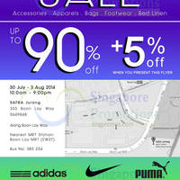 Read more about Link THM Warehouse SALE Up To 90% OFF 30 Jul - 3 Aug 2014