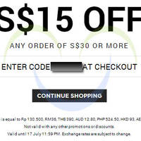 Read more about Luxola $15 OFF Storewide Coupon Code 15 - 17 Jul 2014