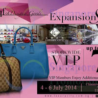 Read more about Luxury City Branded Handbags Storewide Promo 4 - 17 Jul 2014