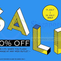 Read more about MDS Collections 20% OFF Storewide Promo 11 - 13 Jul 2014