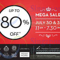Read more about Mandom Beauty Warehouse Sale @ Great World City 30 - 31 Jul 2014