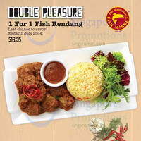 Read more about Manhattan Fish Market 1 for 1 Fish Rendang Coupon 21 - 31 Jul 2014