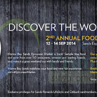 Read more about Epicurean Market Annual Food & Wine Fair @ Marina Bay Sands 12 - 14 Sep 2014