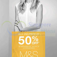 Read more about Marks & Spencer 50% OFF Second Piece Promo 11 Jul 2014