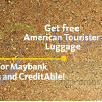 Read more about Maybank FREE American Tourister Luggages Credit Cards & CreditAble Promo 17 Jul 2014