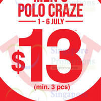 Read more about Bossini Polo Tee Craze Sale 1 - 6 Jul 2014
