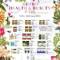 Read more about Metro Health & Beauty Fair @ Centrepoint 11 - 24 Jul 2014