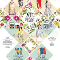 Read more about Metro 20% OFF Ladies Apparel & Accessories Promo 4 - 20 Jul 2014