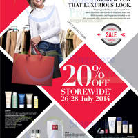 Read more about Metro 20% OFF Storewide Promotion 26 - 28 Jul 2014