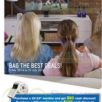 Read more about Samsung Monitors Promotion Offers 1 - 31 Jul 2014