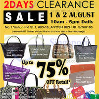 Read more about MyBagEmpire Luxury Branded Handbags Sale 1 - 2 Aug 2014