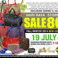 Read more about Nimeshop Branded Handbags Sale @ Mandarin Orchard 19 Jul 2014