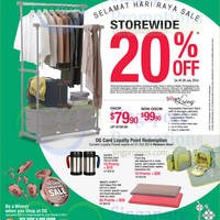 Read more about OG 20% OFF Storewide Selamat Hari Raya Promo 24 - 28 Jul 2014