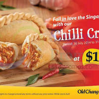 Read more about Old Chang Kee NEW Chilli Crab Curry Puff 16 Jul 2014