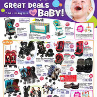 "Read more about Babies ""R"" Us Promotion Offers & 30% OFF Selected Brands 17 Jul - 18 aug 2014"
