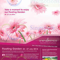 Read more about One Raffles Place Floating Garden Promotions & Activities 24 - 27 Jul 2014