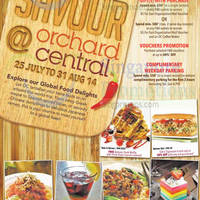 Read more about Orchard Central Global Food Delights Promotions 25 Jul - 31 Aug 2014