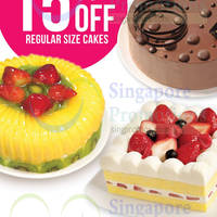 Read more about Polar Puffs & Cakes 15% OFF Regular Cakes Promo 11 - 31 Jul 2014