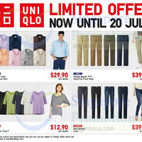 Read more about Uniqlo Islandwide Special Offers 18 - 20 Jul 2014