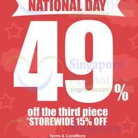 Read more about Purpur 15% OFF Storeiwde & 49% OFF 3rd Piece National Day Promo 31 Jul 2014