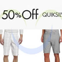 Read more about Quiksilver 50% OFF Men's Shorts, Trunks & More 24hr Promo 30 - 31 Jul 2014