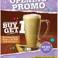Read more about Coffee Bean & Tea Leaf Buy 1 Get 1 FREE @ Suntec 3 Jul 2014
