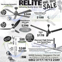 Read more about Relite Ceiling Fans Offers 16 Jul 2014