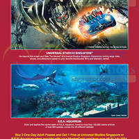 Read more about RWS Buy 3 Get 1 FREE Universal Studios / Sea Aquarium Tickets Promo 9 - 31 Jul 2014
