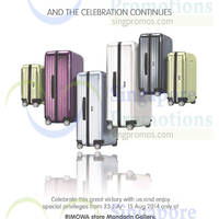 Read more about Rimowa Luggages 15% OFF Storewide Promo 23 Jul - 15 Aug 2014