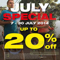 Read more about Royal Sporting House Up To 20% OFF Storewide Promo 7 - 30 Jul 2014