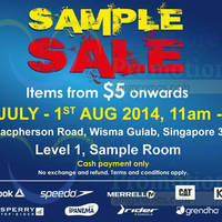 Read more about Royal Sporting House From $5 Sample SALE @ Wisma Gulab 30 Jul - 1 Aug 2014