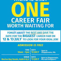 Read more about ST Jobs Career & Development Fair @ MBS 12 - 13 Jul 2014