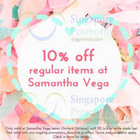 Read more about Samantha Thavasa 10% Off @ Isetan Orchard 16 - 20 Jul 2014
