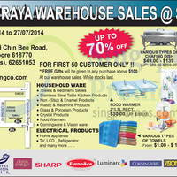 Read more about San Seng Warehouse Sale 18 - 27 Jul 2014