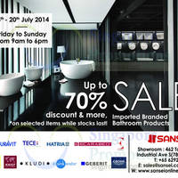Read more about Sansei Up To 70% OFF SALE 18 - 20 Jul 2014