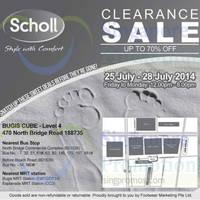 Read more about Scholl Clearance Sale @ Bugis Cube 25 - 28 Jul 2014