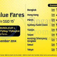 Read more about Scoot From $15 Long Weekend Promo Air Fares 25 - 27 Jul 2014
