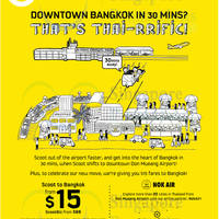 Read more about Scoot From $18 Bangkok Promo Air Fares 29 - 30 Jul 2014