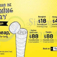 Read more about Scoot From $18 2hr Promo Air Fares 8 Jul 2014